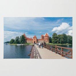 Trakai Island Castle Rug