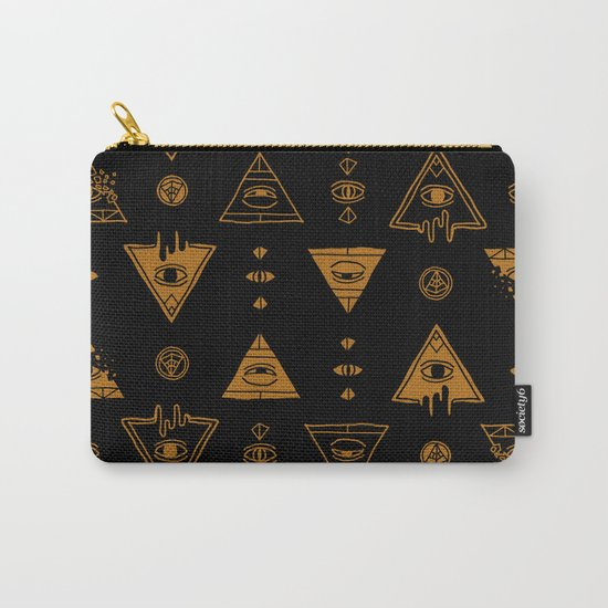 Seeing (Dark) Carry-All Pouch