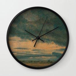 John Constable - Cloud Study Wall Clock