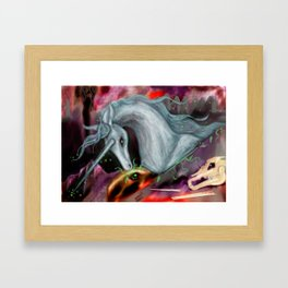 Otherworld Unicorns 10: The Unicorn of Peace Framed Art Print