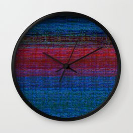 sunset at sea Wall Clock