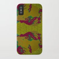 nietzsche iPhone & iPod Cases featuring Friedrich Nietzsche by AngelaCorrin