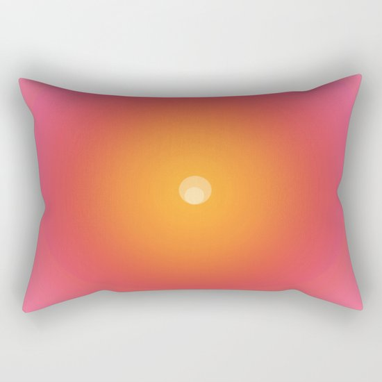 In the imagination's new beginning Rectangular Pillow