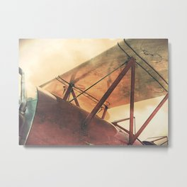 Take Flight // Antique Airplane Metal Print