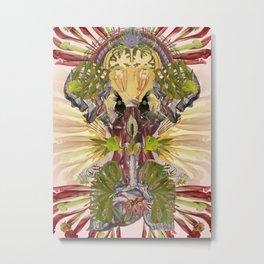 """bedelgeuse """"kokoro"""" original anatomical collage art Metal Print"""