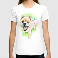 pomeranian T-shirts featuring Pomeranian dog  - F.I.P. - Jack-Jack by PaperTigress
