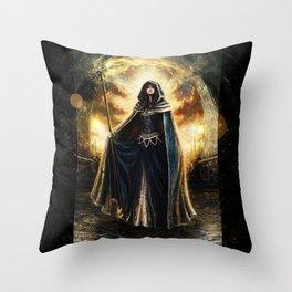 Moiraine Throw Pillow