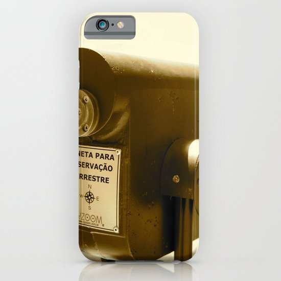 Spyglass to land observation iPhone & iPod Case