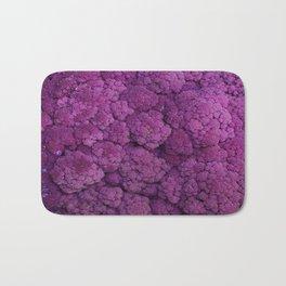 Purple Cauliflower Bath Mat