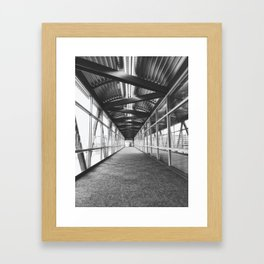 Skywalk Series - Civic Center Framed Art Print