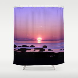 Beauty on the Saint-Lawrence Shower Curtain