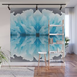Icy Reflection Wall Mural