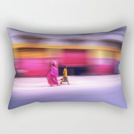 In Sync in Senegal Rectangular Pillow