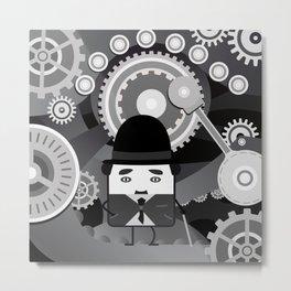 Charlot - Funny Cubes Series Metal Print