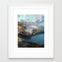 tchmo Framed Art Prints featuring Untitled 20120315e (Landscape) by tchmo