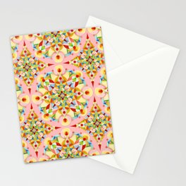 Pink Confetti Stationery Cards