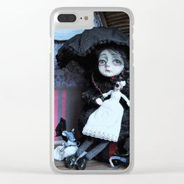 Vanessa the little vampire girl Clear iPhone Case