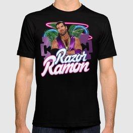 Razor Ramon 80's Design T-shirt