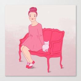 Fröken Saudade Canvas Print