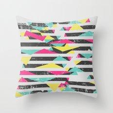 Sound Geomerty Throw Pillow