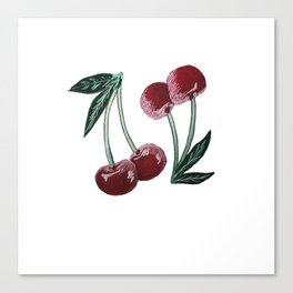 CherryDoubles Canvas Print