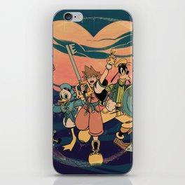 Kingdom Hearts iPhone Skin