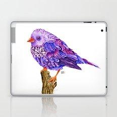 Flowerly Serene Sophia. Ultraviolet Edition.  Laptop & iPad Skin