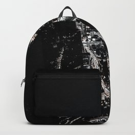 The Dark City (Black and White) Backpack
