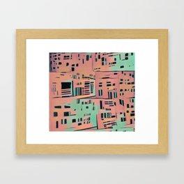 Unintentional Space Framed Art Print