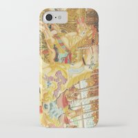 carousel iPhone & iPod Cases featuring Carousel Horse by WhimsyRomance&Fun