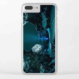 Ice Breaker Star Gazer Clear iPhone Case