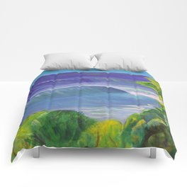 deep_water art Comforters