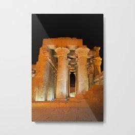 Temple of Kom Ombo Metal Print