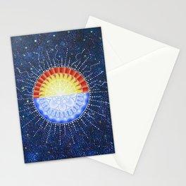 Sunrise/Moonset Mandala Stationery Cards