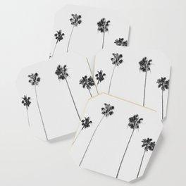 Black & White Palms Coaster