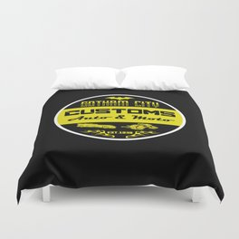 G choppers and customs logo Duvet Cover