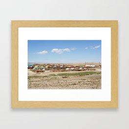 GOBI ALTAI Framed Art Print