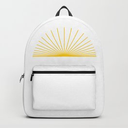 Ray of sunshine Backpack