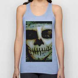 Scary Skull me Unisex Tank Top