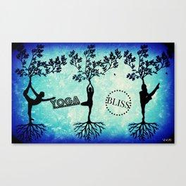 Yoga Bliss Canvas Print