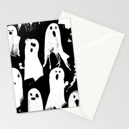 Ghost Splats Stationery Cards