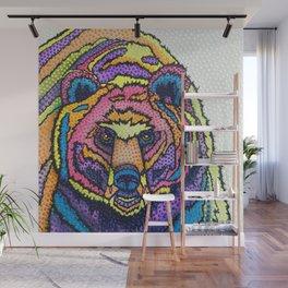I Can't Bear it! Wall Mural