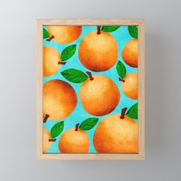 Orange You Happy? Framed Mini Art Print