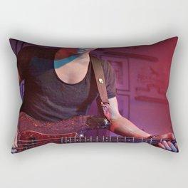 Bassist Rectangular Pillow