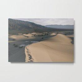 Death Valley: Mesquite Dunes 3 Metal Print