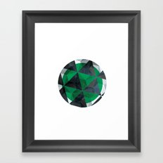 Jade Eye Framed Art Print