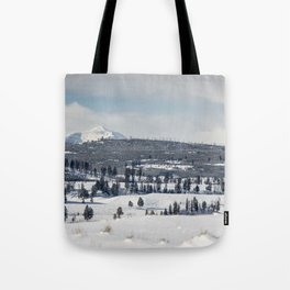 Gallatin Mountains Tote Bag