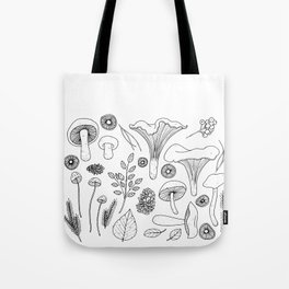 Wild Gatherer III Tote Bag