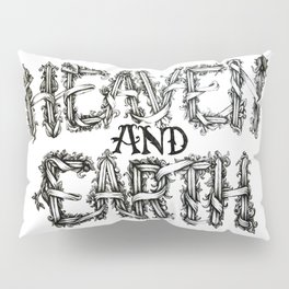 Heaven and Earth Pillow Sham