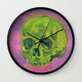 Two Skulls Wall Clock